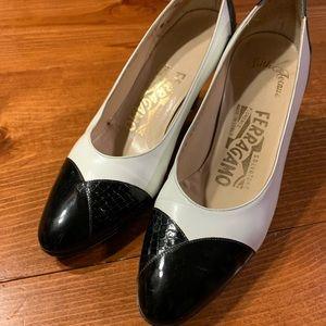Salvatore Ferragamo heels size 4 1/2 B